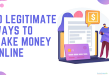 10 Legitimate Ways To Make Money Online